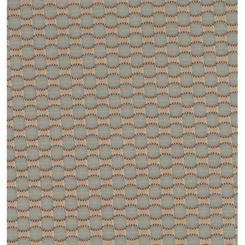 Castelle - Honeycomb Blue Mist Cushion Fabric