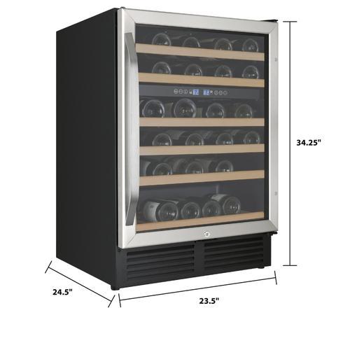 Avanti - 49 Bottle Dual-Zone Wine Cooler