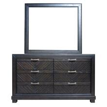 See Details - Montana Mirror and Dresser - Brown