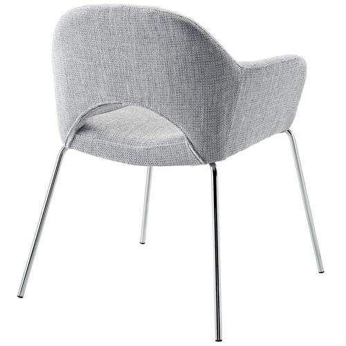 Cordelia Dining Armchair in Light Gray