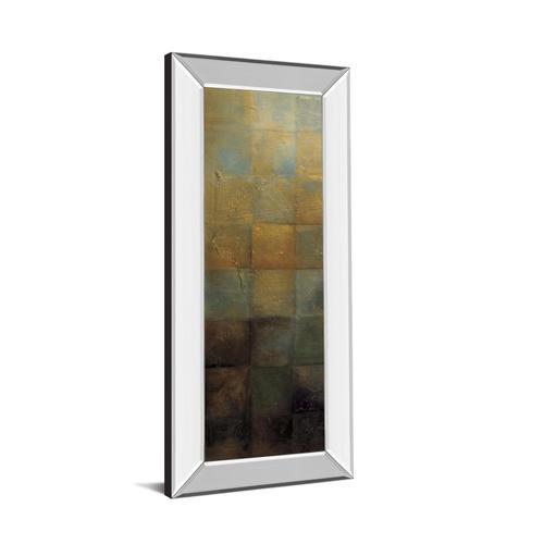 """Modra I"" By Pasion Mirror Framed Print Wall Art"