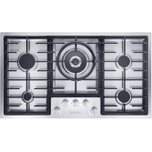 MieleKM 2355 LP - Gas cooktop in maximum width for the best possible cooking and user convenience.