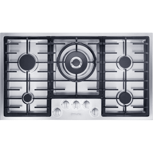 KM 2355 G - Gas cooktop in maximum width for the best possible cooking and user convenience.