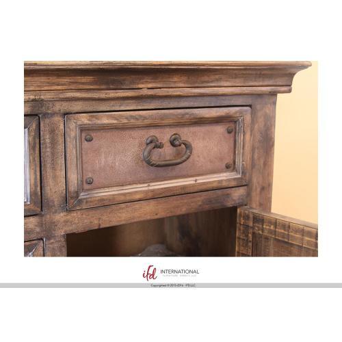 "Artisan Home Furniture - 66"" Console w/6 Drawer, 2 doors"