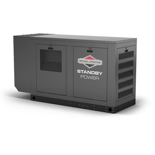 Briggs and Stratton - 80kW 1 Natural Gas Standby Generator - Power Your Home or Business Even When the Lights Go Out