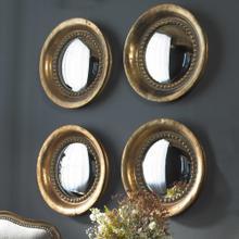 Tropea Round Mirrors, S/2
