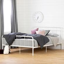 Full Metal Platform Bed - 60''