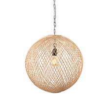 Casablanca Rattan Woven Pendant Light