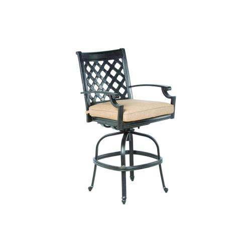 Alfresco Home - Lattice Gathering Swivel Chair