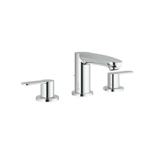 Eurostyle Cosmopolitan 8-inch Widespread 2-handle S-size Bathroom Faucet 1.2 Gpm