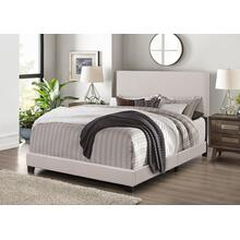 7552 Linen Bed Frame - QUEEN