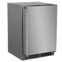 See Details - 24-In Outdoor Built-In High-Capacity Refrigerator with Door Style - Stainless Steel