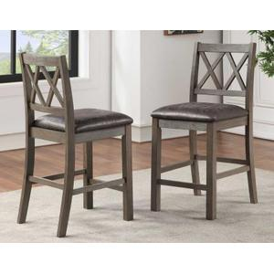 Lori 5-Piece Counter Dining Set (Counter Table & 4 Counter Chairs)
