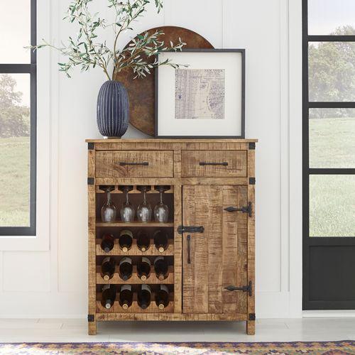 Wine Accent Cabinet