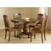 View Product - Round Pedestal Table Plate