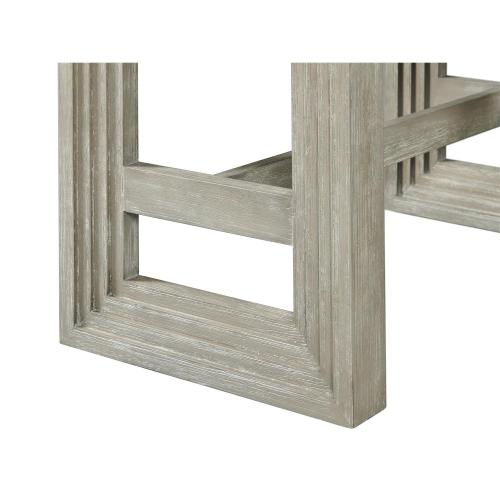 Cascade - Upholstered Dining Bench - Dovetail Finish