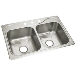 "Southhaven® X Double-basin Sink, 33"" x 22"" x 8-1/2"" Product Image"