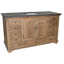 Reclaimed 11-Drawer Vanity