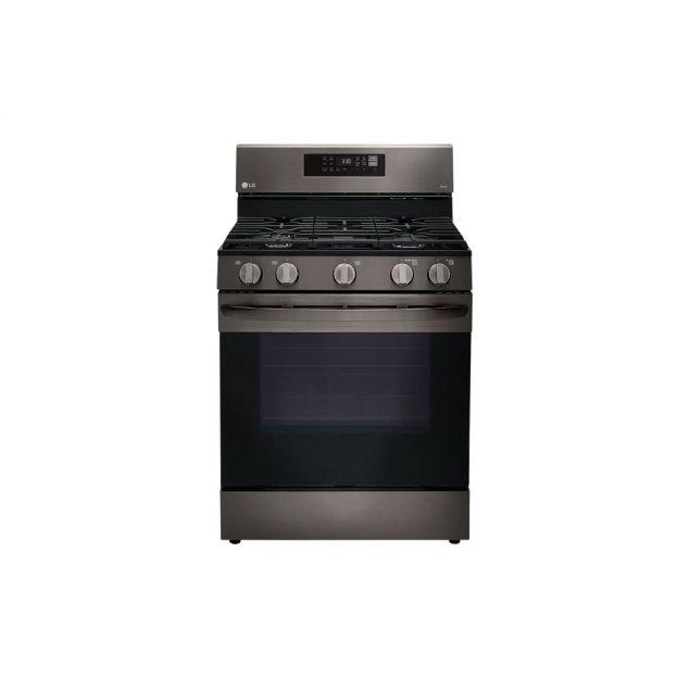 LG Appliances 5.8 cu ft. Smart Wi-Fi Enabled Fan Convection Gas Range with Air Fry & EasyClean®