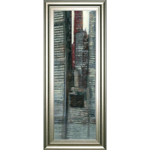 """Urban Landscape VI"" By Norman Wyatt Framed Print Wall Art"