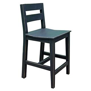 "Ant Black Hydr 24"" Bar Stools"
