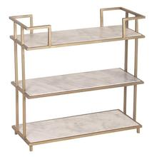 3-Tiered Trolly Marble