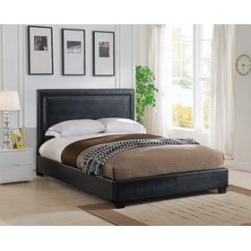 BAN66TBL Banff Platform Bed - King, Black