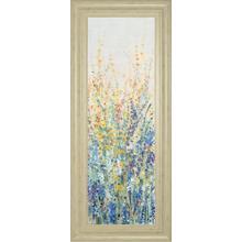 """Wildflower Panel I"" By Tim Otoole Framed Print Wall Art"