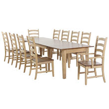 Rectangular Extendable Dining Set (11 piece)