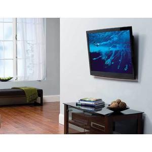 "Sanus - Black Super Slim Tilting Wall Mount For 51"" - 80"" flat-panel TVs"