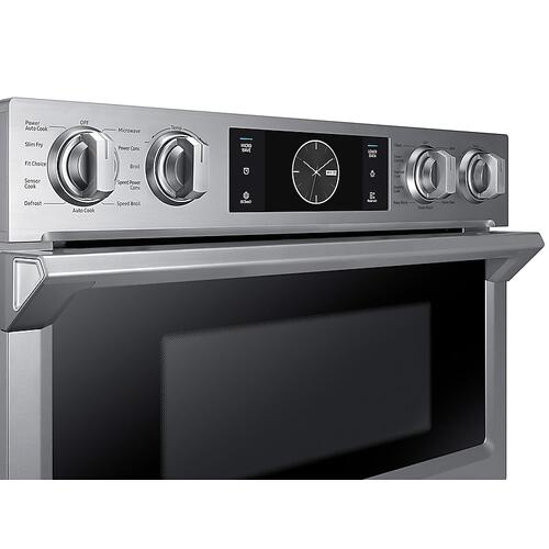 "30"" Flex Duo™ Microwave Combination Wall Oven in Stainless Steel"