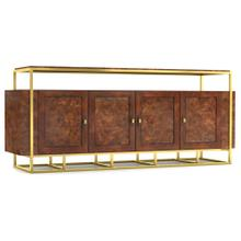 See Details - Woodstock Wood/Metal Entertainment Console