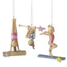 See Details - Gymnast Ornaments (3 asstd)