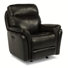 See Details - Zoey Power Gliding Recliner with Power Headrest