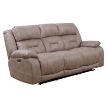 Aria Dual Power Recliner Sofa, Desert Sand