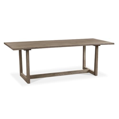 Bassett Furniture - Liam Oak Live Edge Dining Table