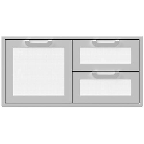 """Hestan - 42"""" Hestan Outdoor Combo Door/Drawer - AGSDR Series - Froth"""