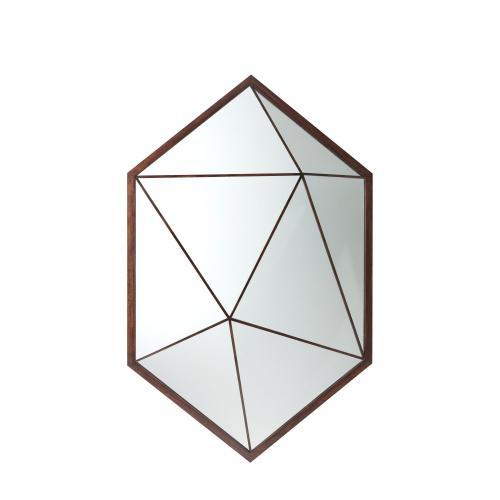See Details - Vlad Hexagonal Wall Mirror
