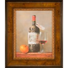 Wine and Fruit I 14x11