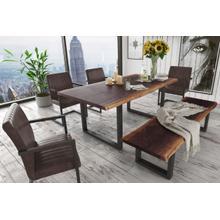 Modrest Taylor Large Modern Live Edge Wood Dining Table