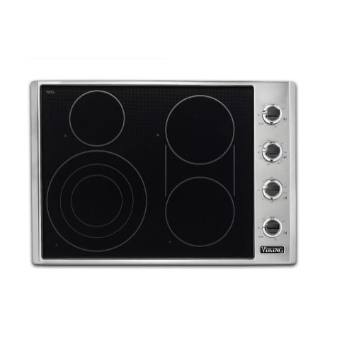 "30"" Electric Radiant Cooktop - VECU5301 Viking 5 Series"