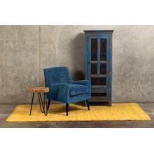 See Details - Kristina Ocean Blue Accent Chair, AC175