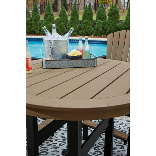 Outdoor Bar Table and 4 Barstools