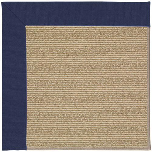 """Capel Rugs - Creative Concepts-Sisal Canvas Royal Navy - Rectangle - 24"""" x 36"""""""