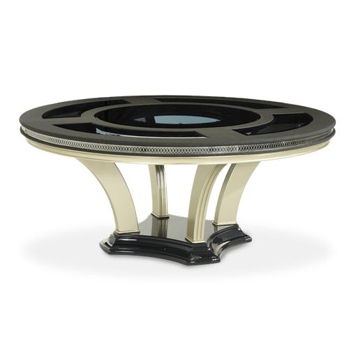 Caviar Round Dining Table (2 pc)