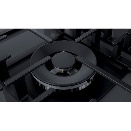 Benchmark® Gas Cooktop 36'' Hard Glass, dark silver NGMP677UC