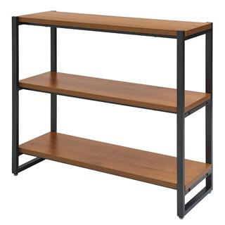 Anderson KD 3 Tier Bookcase, Gliese Brown