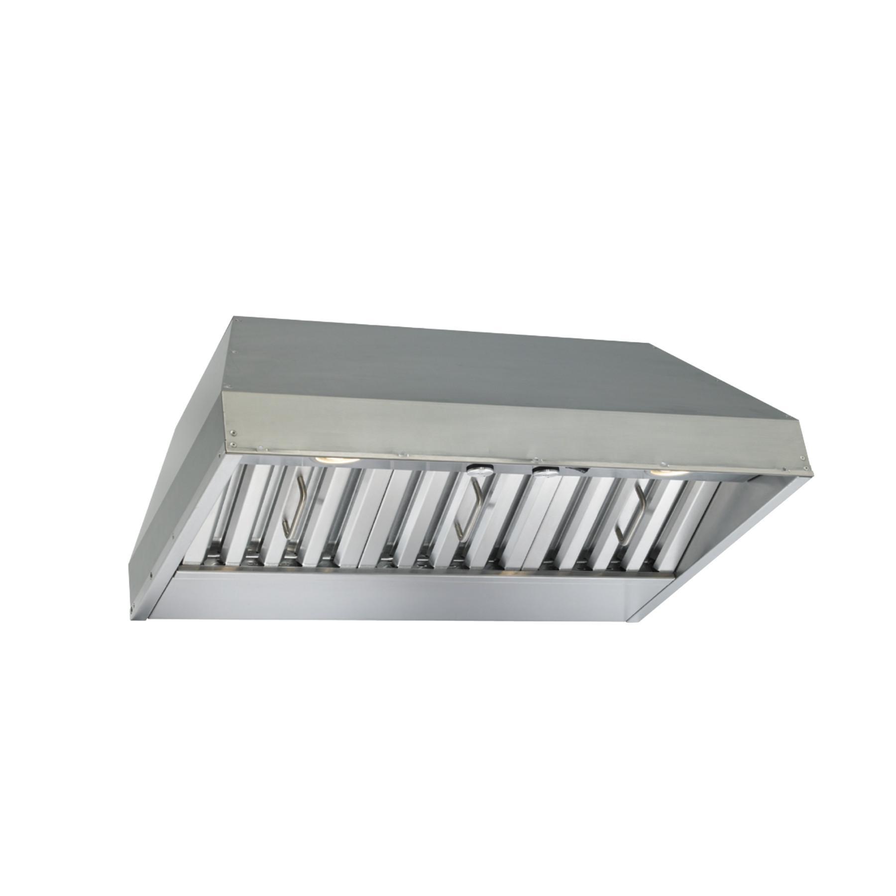 30-inch Built-In Range Hood, 290 Max CFM Blower, Stainless Steel (CP3 Series)