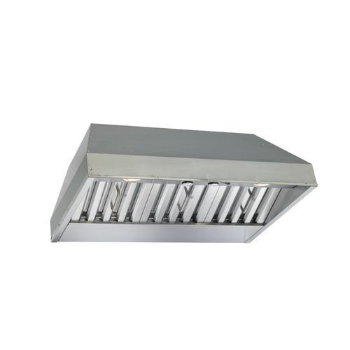 BEST Range Hoods - 36-inch Built-In Range Hood, 670 Max CFM Blower, Stainless Steel (CP3 Series)