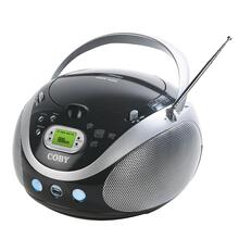 Portable MP3/CD Stereo with AM/FM Radio and USB Port